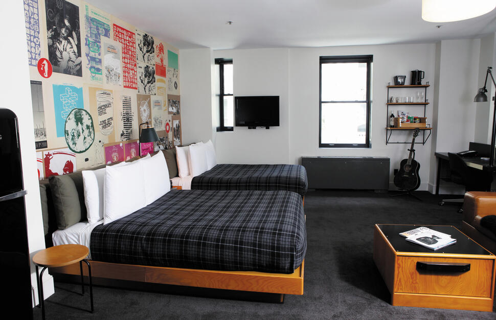Room at Ace Hotel, New York