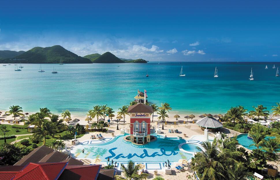 64c22fa5d0c4 Sandals Grande St Lucian Spa   Beach Resort