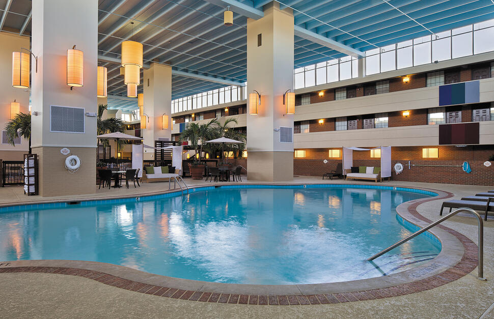 Indoor Swimming Pool, The Inn at Opryland