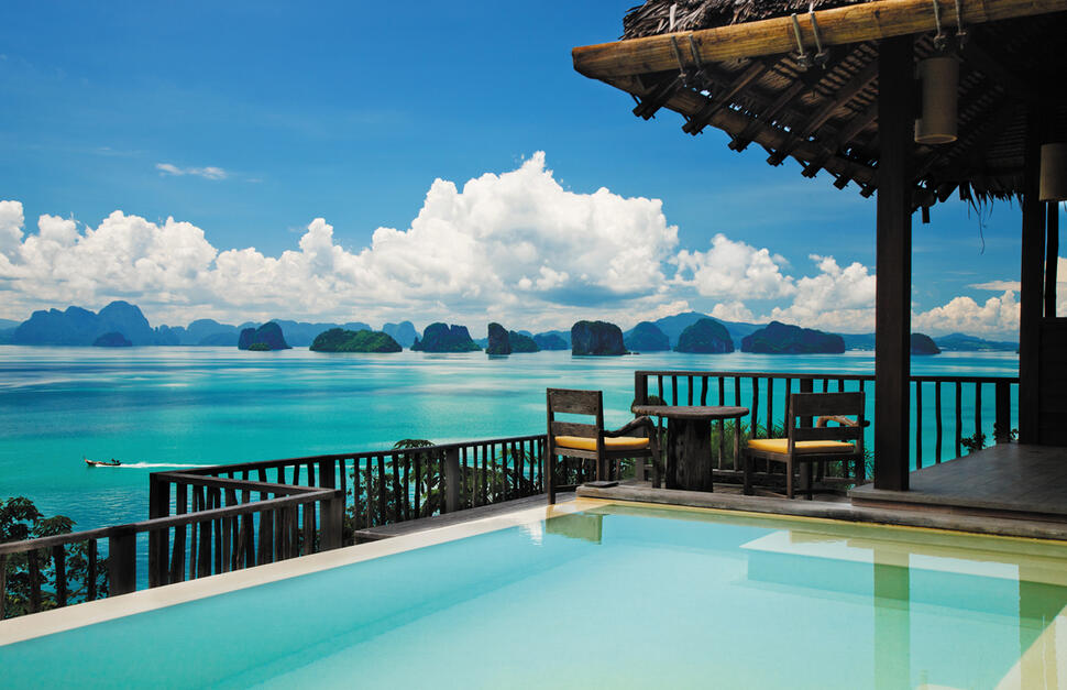 Ocean Panorama Pool Villa, Six Senses Yao Noi, Phang Nga Bay, Thailand
