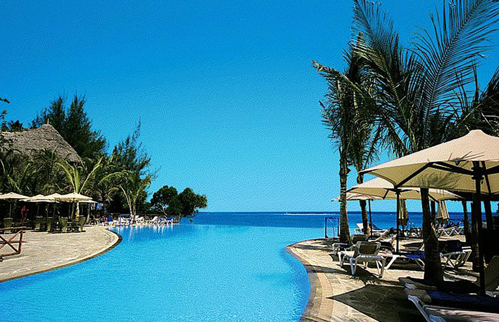 Infinity Pool, Baobab Beach Resort & Spa, Mombasa