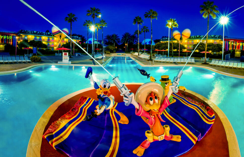 Disney's All Star Music Resort, Walt Disney World Resort, Orlando, Florida
