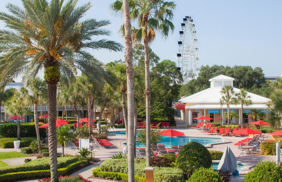 Wyndham Orlando Resort with Coca-Cola Orlando Eye
