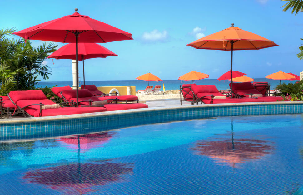 Pool Deck, Ocean Two, Barbados, Caribbean