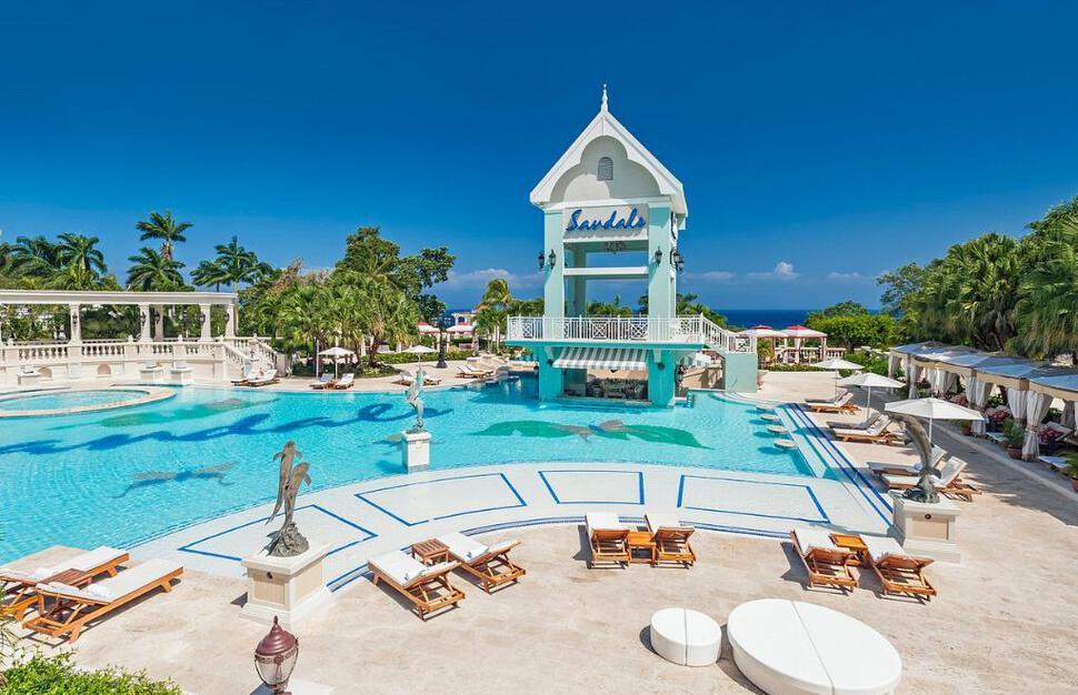 Sandals Ochi Beach Resort Ocho Rios Jamaica Hotel