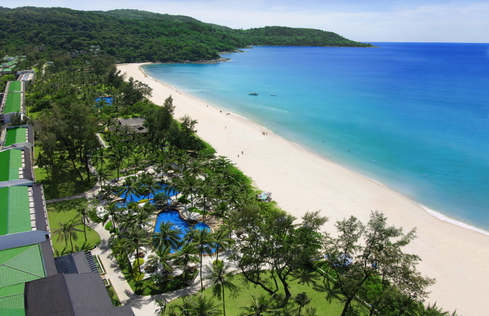 Kata Noi Beach, Katathani Phuket Beach Resort, Thailand, Far East