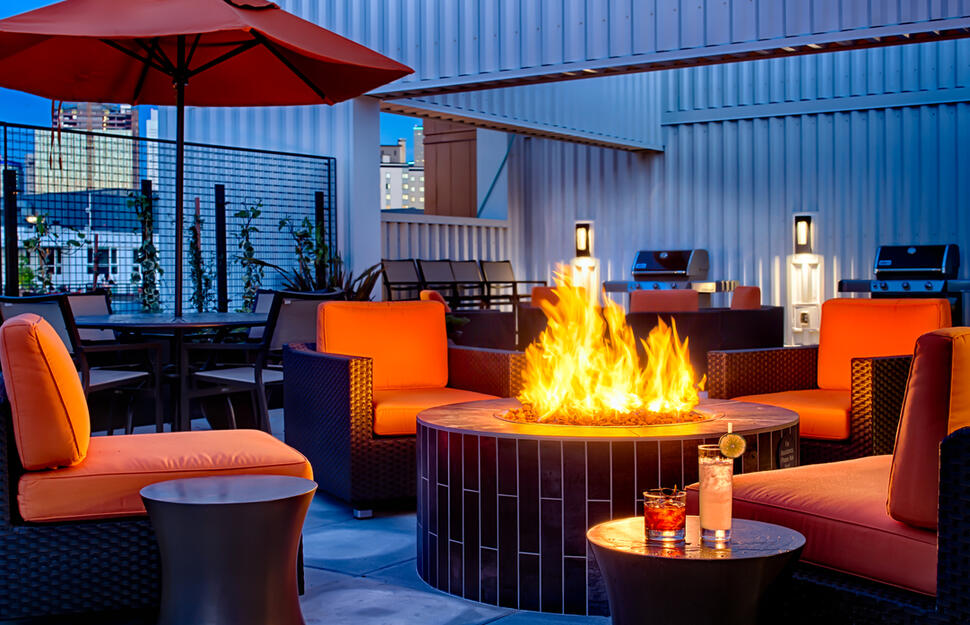 Rooftop Firepit