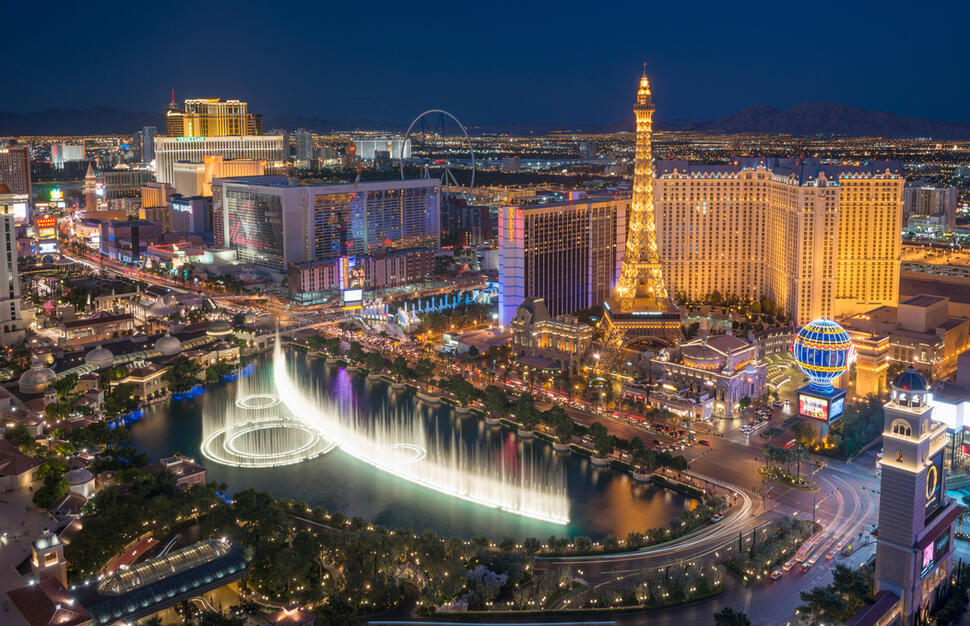 3 nights Las Vegas - 3 nights Los Angeles - 7 nights Hawaii