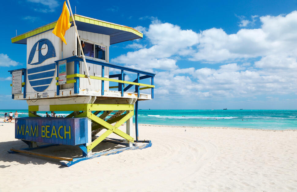 3 nights Miami - 3 nights Key Largo - 3 nights Key West