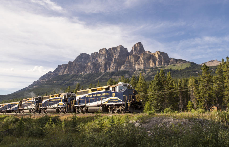 Rocky Mountaineer - Journey Through the Clouds Explorer Westbound