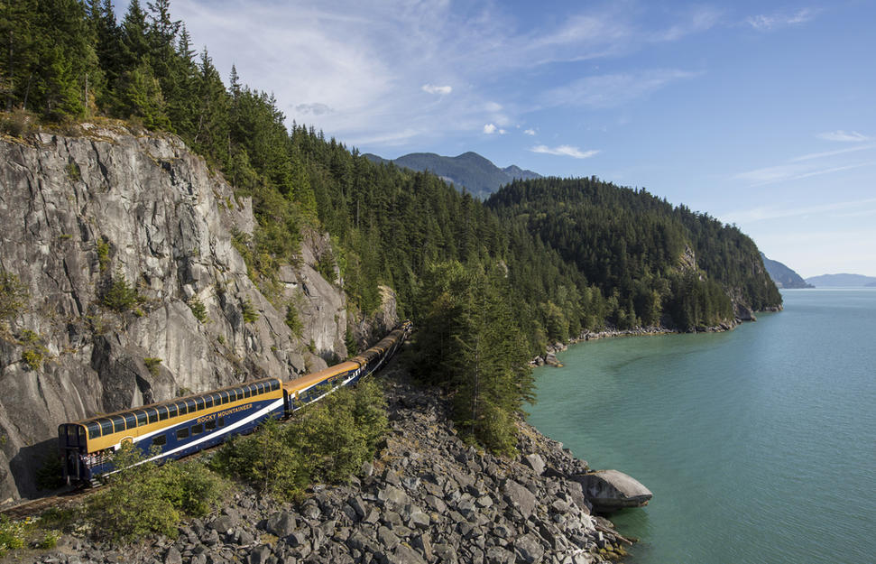 Rocky Mountaineer - Rainforest to Gold Rush