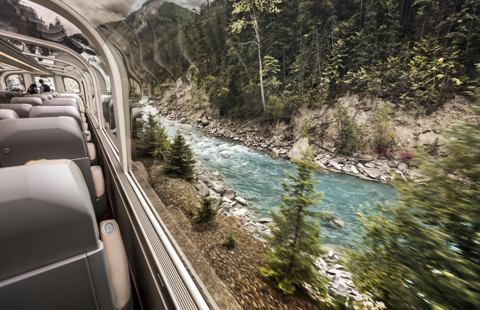 Rocky Mountaineer - Journey through the Clouds Explorer with Pre-Tour Cruise ms Koningsdam